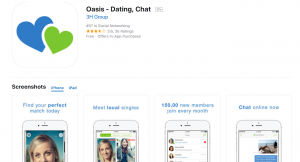 Oasis Active Online Dating