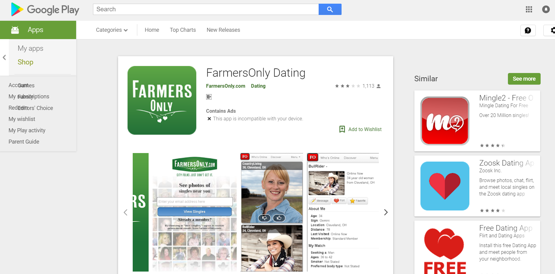 How To Sign Up Farmersonly Account