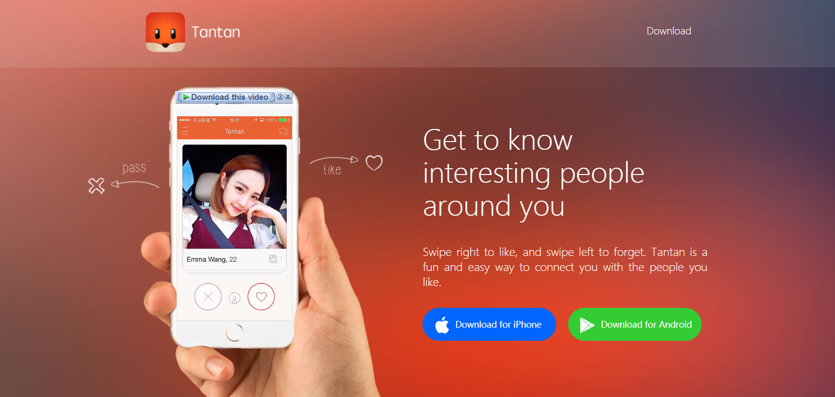 Tantan Online Dating Login And Reset
