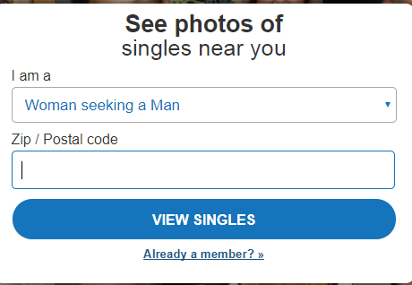 how to sign up for match dating site