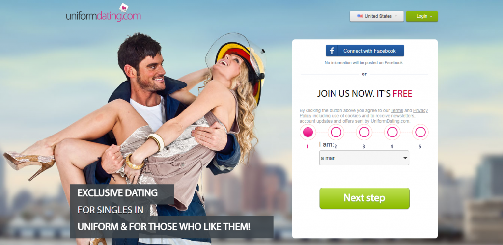 Uniformes Dating-Login