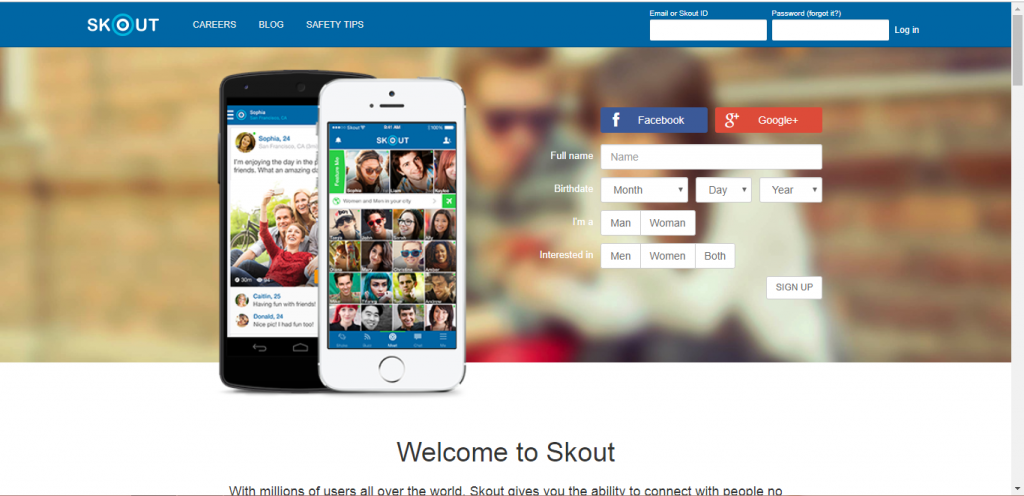 How To Signup Skout?